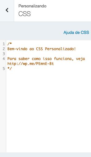 Design personalizado - CSS