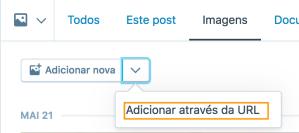 Adicionar através da URL